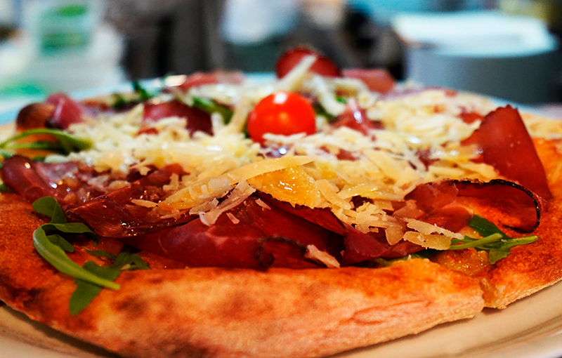El origen de la auténtica pizza